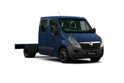 Lease Vauxhall Movano HGV van leasing
