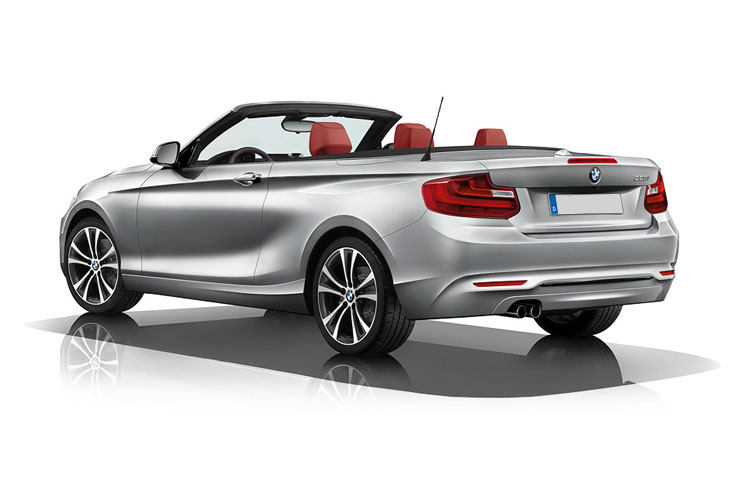 BMW 2 Series 218 Convertible 1.5 i 136PS M Sport 2Dr Auto [Start Stop] [Tech II] back view