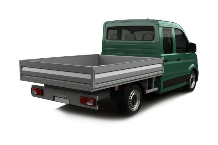 MAN TGE 3.140 3.5t Standard RWD 2.0 d RWD 140PS  Chassis Double Cab Manual [Start Stop] back view