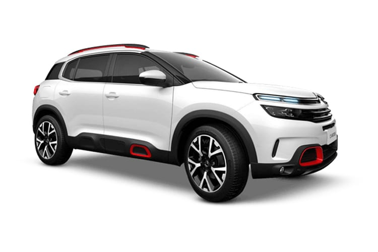 Citroen C5 Aircross SUV 1.2 PureTech 130PS C-SERIES 5Dr Manual [Start Stop] front view