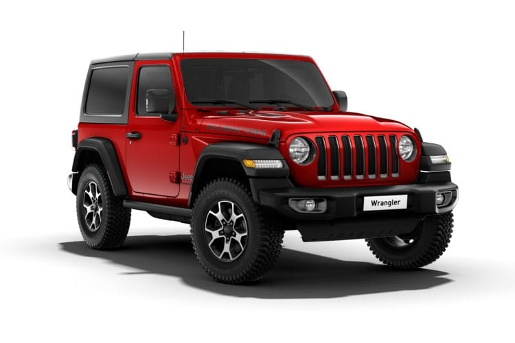 Jeep Wrangler SUV 2Dr 2.2 MultiJetII 200PS Overland 2Dr Auto [Start Stop] front view