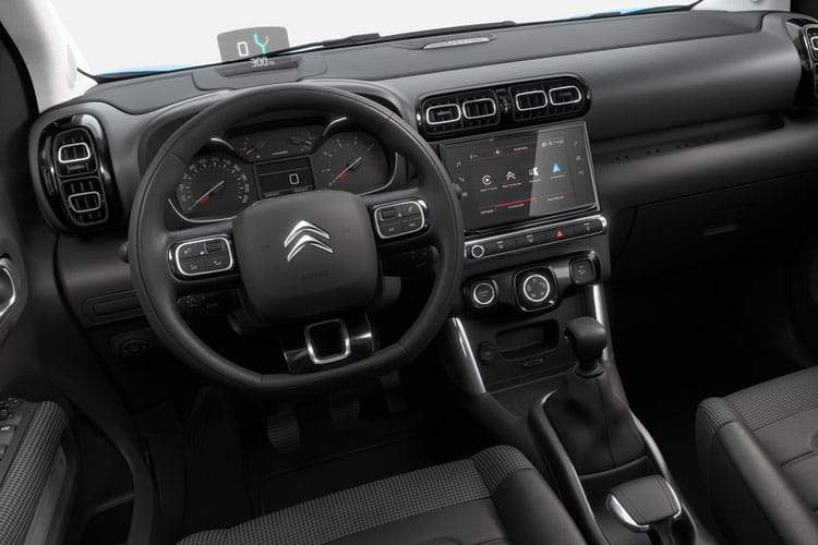 Citroen C3 Aircross SUV 1.2 PureTech 110PS C-Series 5Dr Manual [Start Stop] inside view