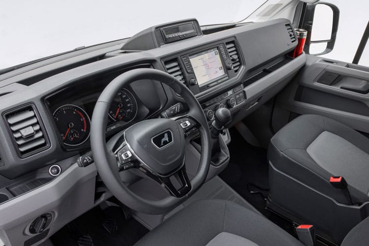 MAN TGE HGV 5.180 5.0t Long DRW 2.0 d BiTurbo DRW 177PS  Chassis Double Cab Auto [Start Stop] inside view